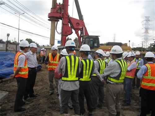 Dự án: Xây dựng tuyến đường sắt đô thị TP Hồ Chí Minh - Đoạn: Bến Thành - Suối Tiên ( Tuyến 1)