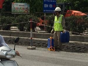 Sửa chữa mặt đường QL5 - Đoạn Km 76+00 đến Km 78+00